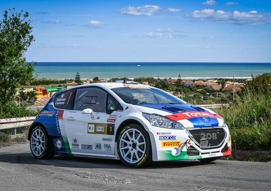 CIR 2017. Il Rally Adriatico secondo Andreucci-Andreussi