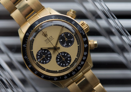 Weekend da record per le aste di Rolex
