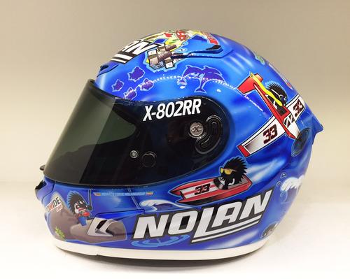 Nolan X-802RR Melandri Imola (2)
