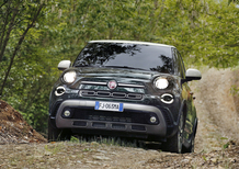 Fiat 500 L Cross 2017, restyling per la versione Large [Video primo test]