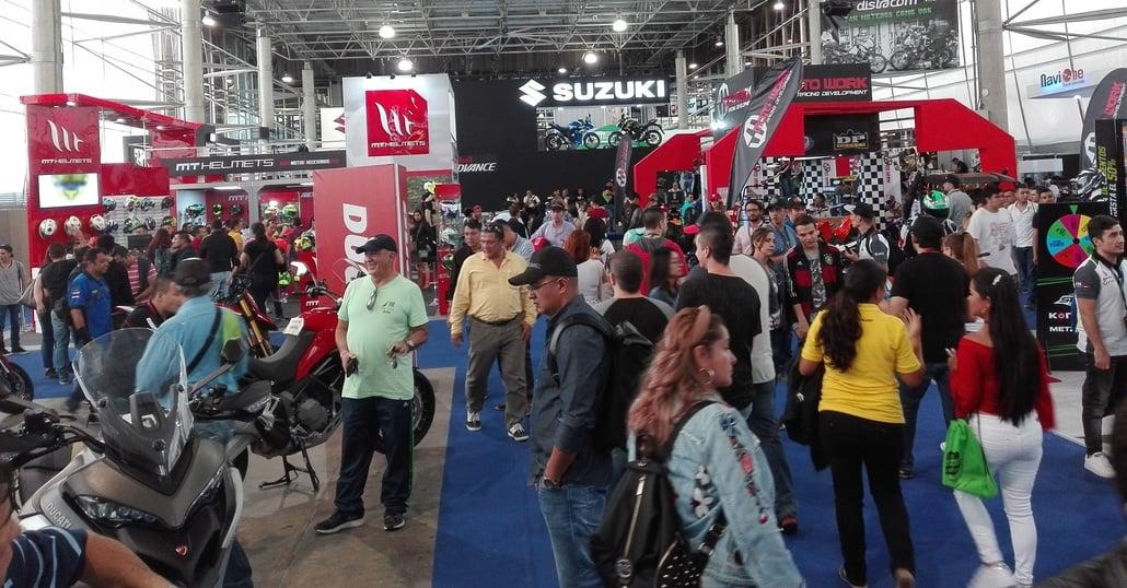 Feria de las 2 Ruedas di Medellin. Le moto e Guillermo Pajon