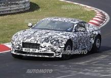 Aston Martin: la prossima DB11 si prepara al Nurburgring