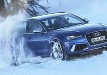 Audi RS6: riesce davvero ad andare su una pista da sci (come nello spot)? [video]