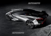 Peugeot Vision Gran Turismo: supercar virtuale, emozioni reali