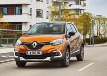 Renault Captur restyling 2017, nuovo look per la SUV compatta [Video primo test]