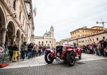 Trofeo Nicolis: emozionarsi con le auto della Mille Miglia [video]