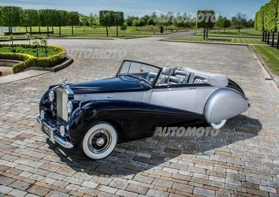 Rolls Royce Dawn: prima del crossover una nuova cabriolet