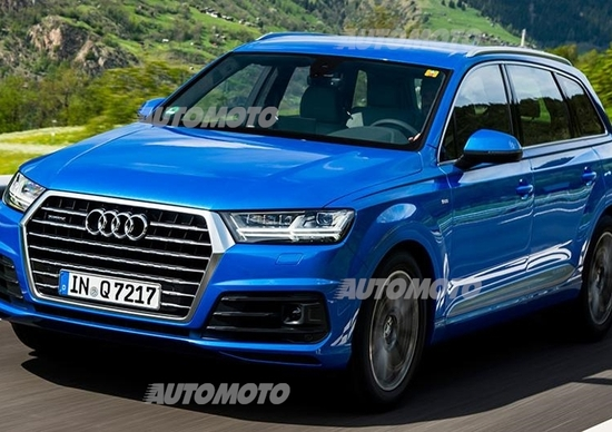 Nuova Audi Q7 Video Prove Automoto It
