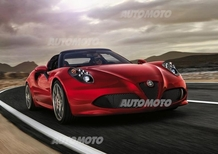 Alfa Romeo 4C Spider: i prezzi per il mercato italiano