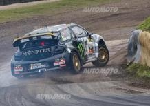 WRX 2015: Rallycross di Gran Bretagna, il lungo volo di Petter Solberg