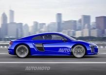 Audi R8 e-tron piloted driving, da Hollywood alla realtà