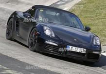 Porsche Boxster: beccata la versione restyling