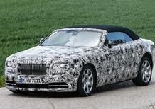 Rolls-Royce Dawn: bellissima, anche quando è camuffata