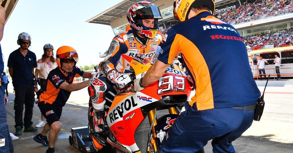 Test MotoGP 2017 a Barcellona. Marquez il più veloce