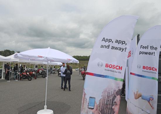 Gruppo Bosch: tecnologie e servizi per le due ruote