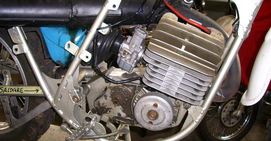 Il motore pre smontaggio