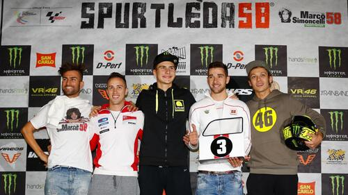 MotoGP 2015. Baldassarri vince la Spurtleda58 davanti a Dovizioso e Ferrari (9)