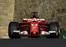 F1, GP Azerbaijan 2017, Vettel: «Avrei potuto fare meglio»