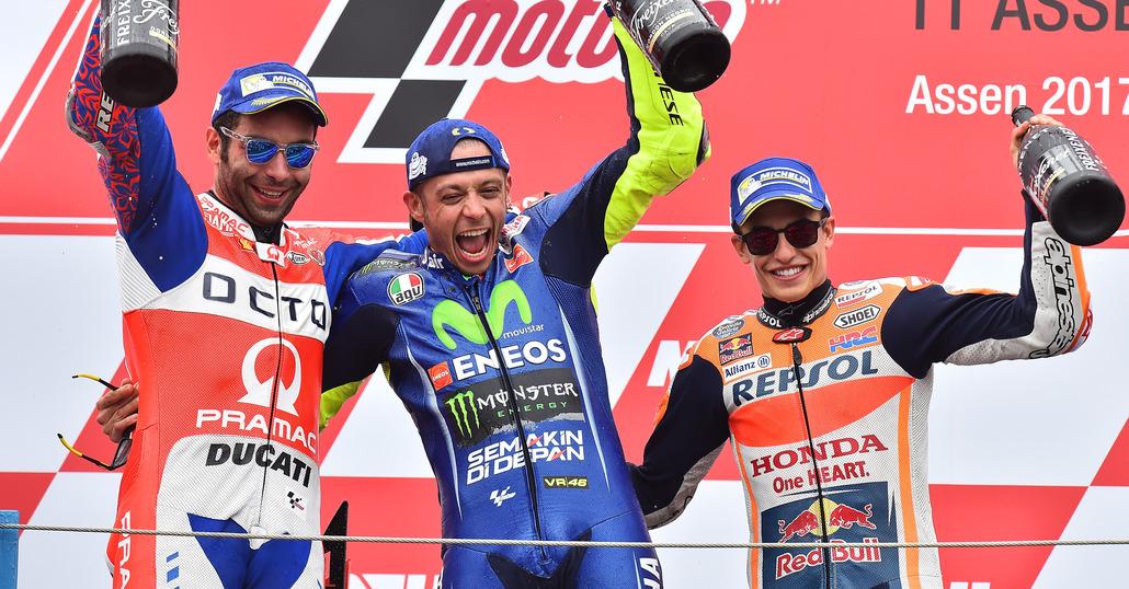 MotoGP. Le pagelle del GP d'Olanda 2017