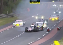 Le Mans 2015: brutto incidente per l'Audi di Duval [video]