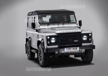 Land Rover Defender 2.000.000: ecco l'ultimo esemplare
