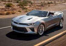 Chevrolet Camaro Convertible, ecco la cabrio di sesta generazione