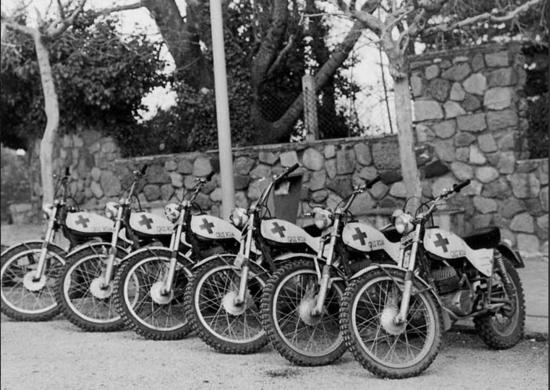 Brigata Moto Alpina della Cruz Roja