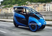 Toyota I-Road: la nostra video-prova a Grenoble
