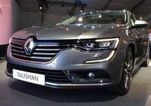 Renault Talisman: ecco l'erede della Laguna. Foto e dettagli
