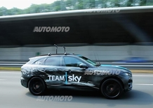 Jaguar F-Pace, debutto al Tour de France 2015