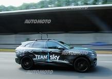 Jaguar F-Pace, debutto al Tour de France 2015