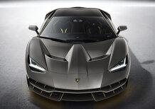 Lamborghini Centenario, a Goodwood 2017 ruggisce il V12