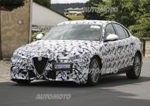Alfa Romeo Giulia: ecco la versione diesel!