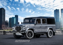 Land Rover Defender Startech Sixty8, il Defender compie 68 anni