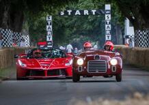 Ferrari compie 70 anni, festa a Goodwood