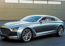 Hyundai Vision G Concept Coupé: la base delle berline premium coreane