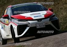 Una Toyota Mirai a idrogeno nel WRC!