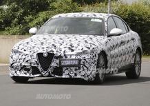 Alfa Romeo Giulia Quadrifoglio Verde: eccola in azione al Nurburgring! [VIDEO]