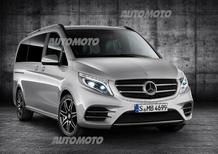 Mercedes Classe V AMG Line: quando il van diventa sportivo