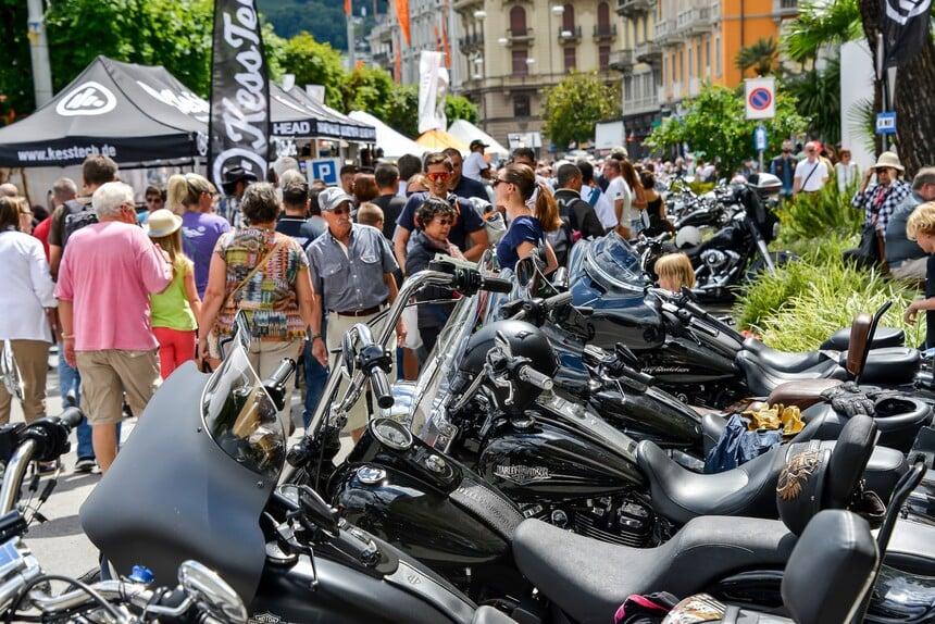 Grande successo a Lugano per l'HOG European Rally (2)
