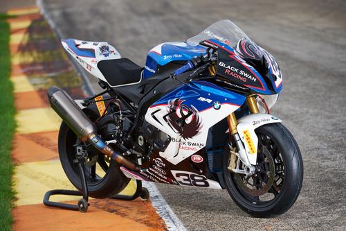 Livrea asimmetrica per la S1000RR RSA GP Trophy