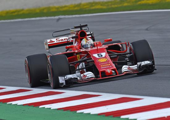F1, GP Austria 2017, Vettel: «Non avrei potuto fare molto di più»