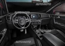 Nuova Kia Sportage: ecco gli interni e tutti i dettagli tecnici