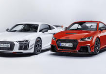 Audi Performance Parts: nuova aerodinamica per R8 e TT RS