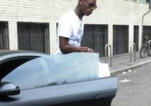 Balotelli: patente ritirata per eccesso di velocità sulla Lamborghini