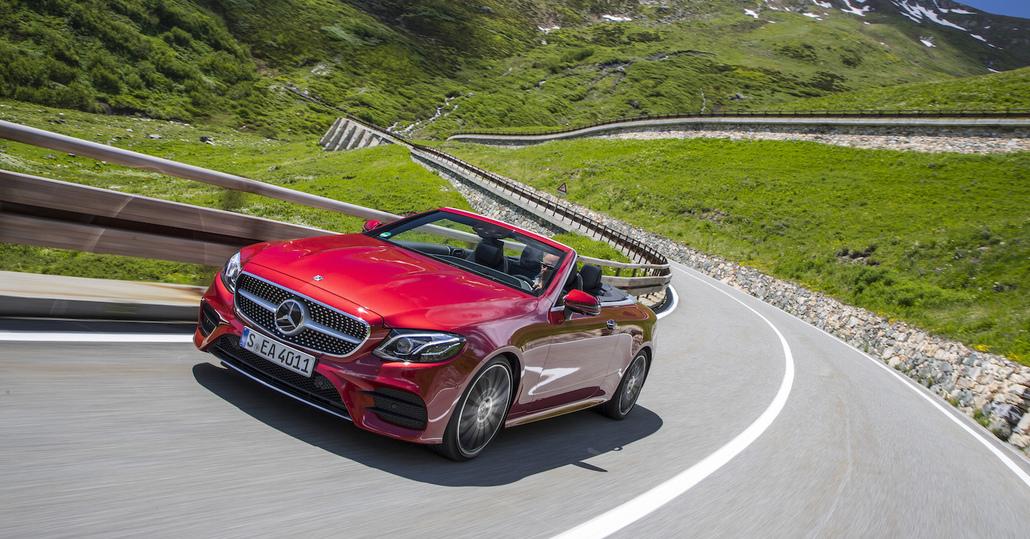 Mercedes Classe E Cabrio: per tetto il cielo