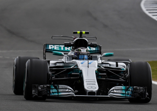 F1, GP Gran Bretagna 2017, FP2: Bottas davanti a tutti