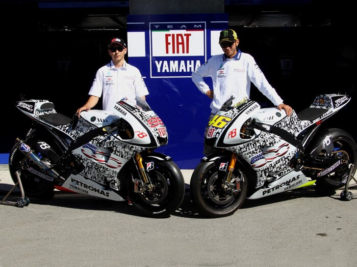 le 5 livree pi stravaganti della motogp motogp. Black Bedroom Furniture Sets. Home Design Ideas