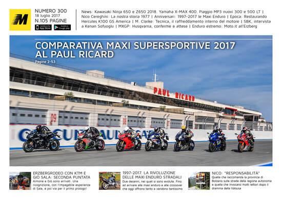 Magazine n° 300, scarica e leggi il meglio di Moto.it