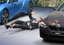 Salone di Francoforte 2015, Presidente BMW accusa un malore